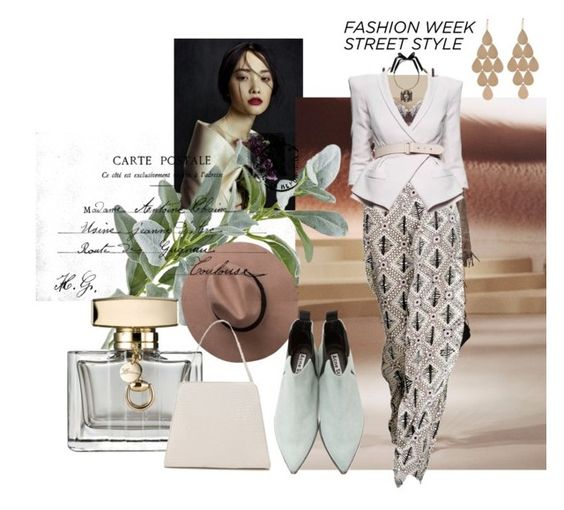 """Untitled #570"" by talatay ❤ liked on Polyvore featuring Elie Tahari, Pier 1 Imports, Holly Fulton, Gucci, Lanvin, Acne Studios and Irene Neuwirth"