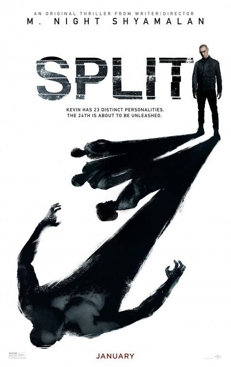 Split (2016) movie poster