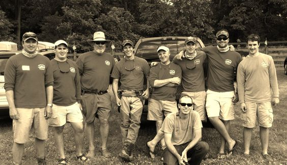 MCFF crew at Project Healing Waters Mossy Creek Invitational 2012