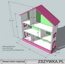 Znalezione obrazy dla zapytania jak zrobić domek dla lalek