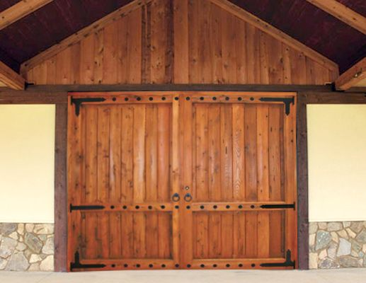 Barn doors....to attic