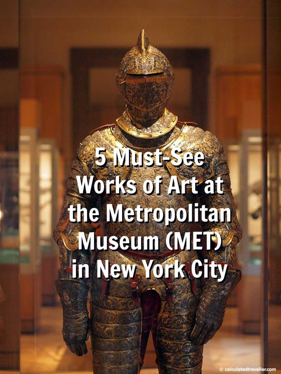 Armour of Henry II of France > 5 Must-See Works of Art at the Metropolitan Museum, NYC