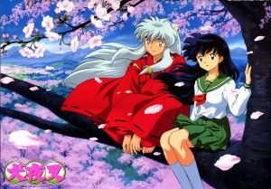 Inuyasha and Kagome - I have this poster in my room ^.^