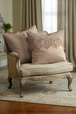 Fiona Euro Sham - Crochet Euro Sham, Bedding Sham, Cotton Sham For Bed | Soft Surroundings