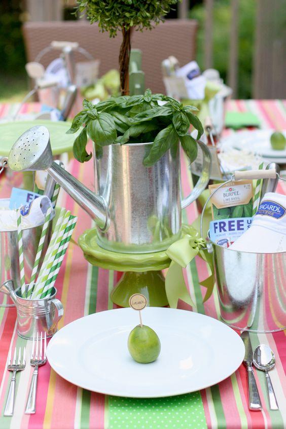 Hospedar um partido de jantar Jardim de Verão!