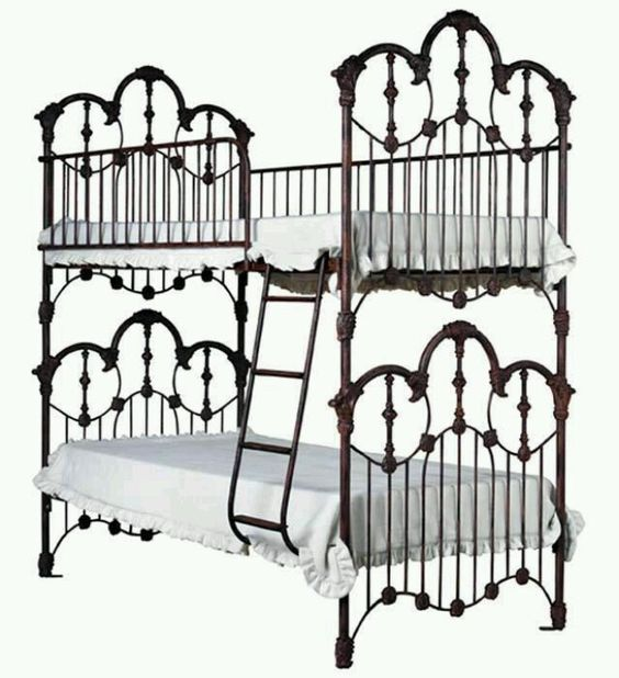 I need a bunk bed this steampunk inspired one will do for Steampunk bed