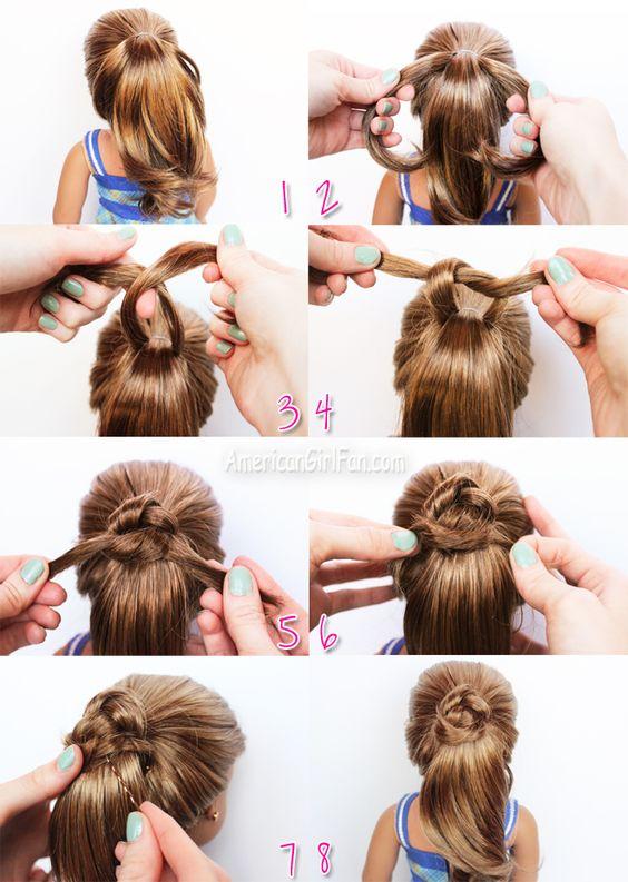 Peachy American Girl Dolls Girls And Ties On Pinterest Short Hairstyles Gunalazisus