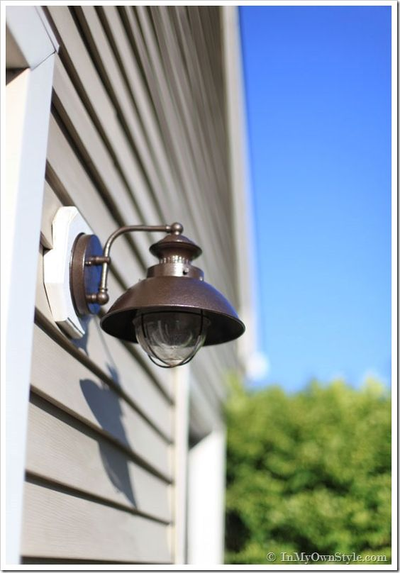 outdoor light fixtures light fixtures and metallic paint on pinterest. Black Bedroom Furniture Sets. Home Design Ideas