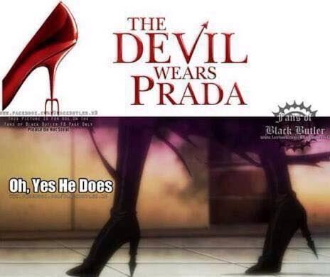 Rich devil Sebas-chan