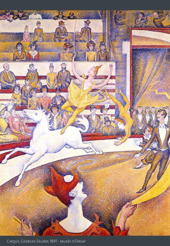 Le Cirque Gorges Seurat Musée d'Orsay cirque®montmartre-01