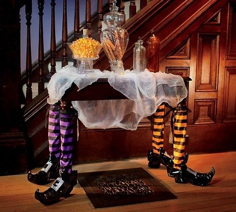 Decoraci n de mesa para halloween halloween pinterest for Decoracion mesa halloween