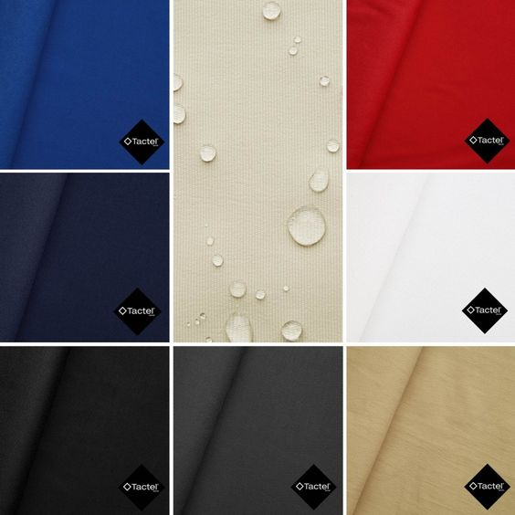 Baron Tactel® alle Farben  #Stoff #Outdoor #Wasserabweisend #Aktivstoffe #Nähen #DIY