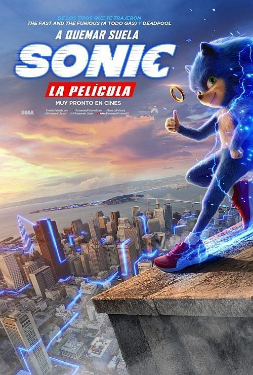 Primer Trailer Y Poster De Sonic La Pelicula Peliculas Completas Ver Peliculas En Linea Peliculas En Linea Gratis
