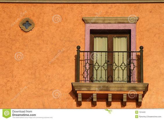 Balkon Im Sun Stockfotos - Bild: 701443