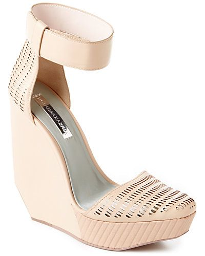BCBGMAXAZRIA 'Austin' Leather Wedge