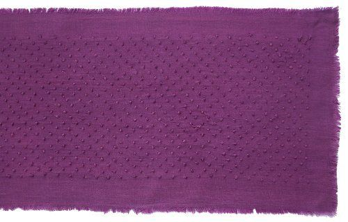 Gitika Goyal Home Khadi Chikanwork 35-Inch Runner Creeper Design, Purple by Gitika Goyal Home. $38.93. 11.5-Inch-by-35-Inch 100-Percent Cotton Khadi-Handmade-Fabric Chikanwork-Hand-Embroidery. 35-Inch Runner. Delicate Machine Wash Please Expect Some Unevenness in Fabric and Embroidery as it is Completely Handmade Made in India. Gitika Goyal Home presents Runners from a Table Linen collection in hand-spun and hand-woven Khadi fabric with Chikan hand-embroidery in a range o...