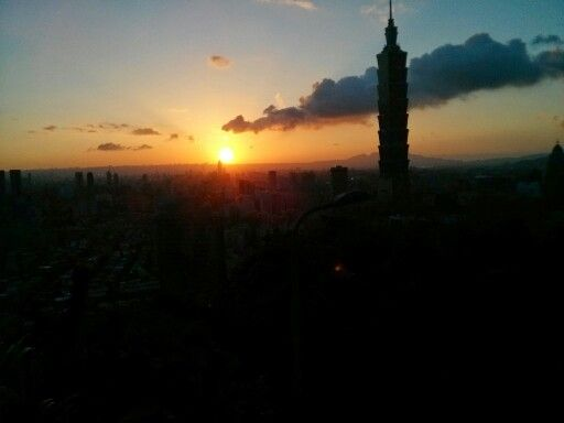 Taipeh at Sundown