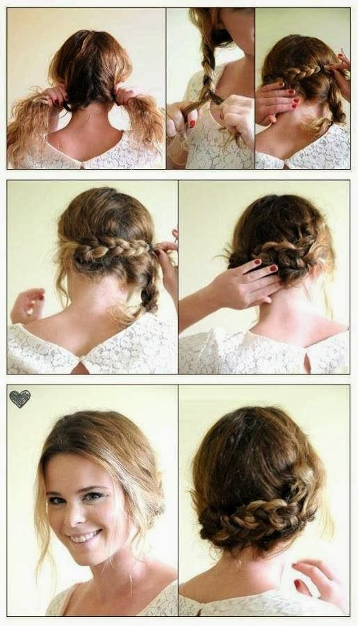 Awesome Diy Hairstyles Braided Hairstyles And Hairstyles On Pinterest Short Hairstyles Gunalazisus
