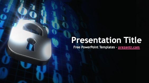 Free Data Protection Powerpoint Template Prezentr Ppt Templates In 2020 Powerpoint Templates Powerpoint Ppt Template