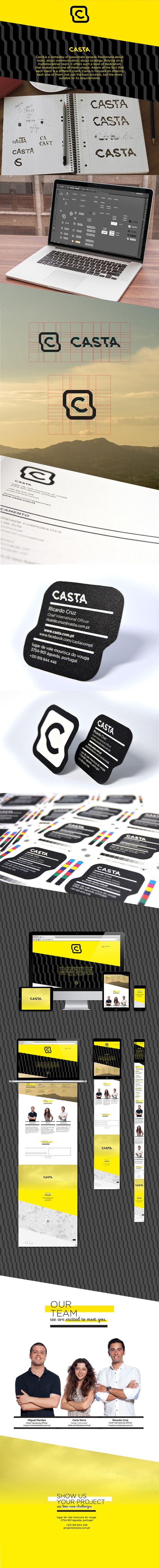 Casta / Corporate identity on Behance