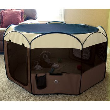 Free Shipping when you buy Ware Manufacturing Delux Pop-Up Dog Pen at Wayfair - Great Deals on all Pets products with the best selection to choose from!