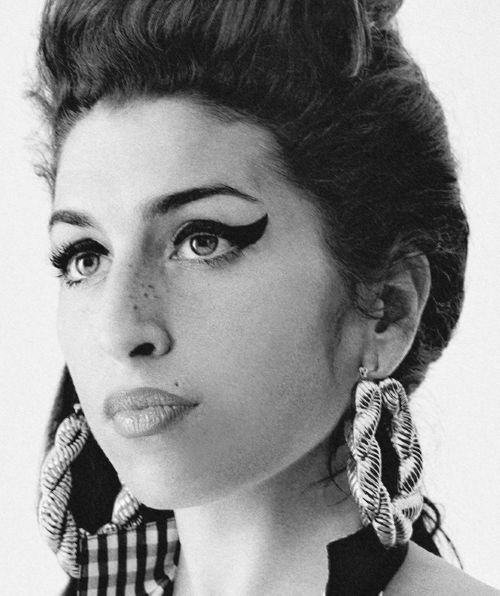 Singer Amy Jade Winehouse. Born 14 Sept 1983, Southgate, London. Died 23 July 2011, Camden, London