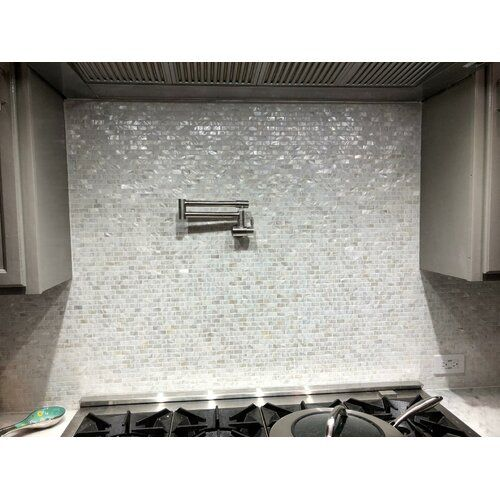 0 6 X 1 2 Seashell Mosaic Tile Glass Mosaic Tiles Shell Mosaic Tile Mosaic Tiles