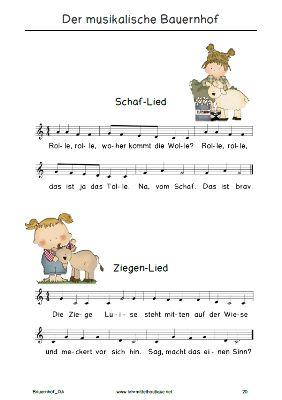 free kindergeschichte mit liedern zum bauernhof