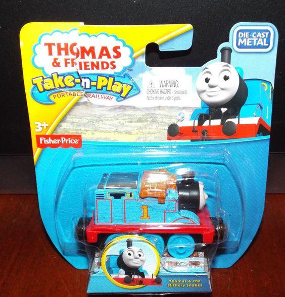 Thomas & Friends Take-n-Play THOMAS (damaged package) New! #FisherPrice