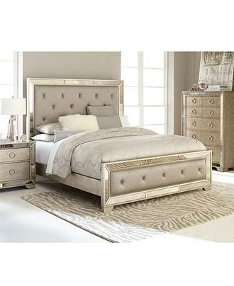 Spring 2014 Home Trend: Rise and shine with a mirrored bed set