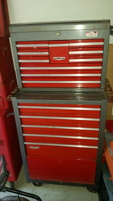 Craftsman old rollaway toolbox