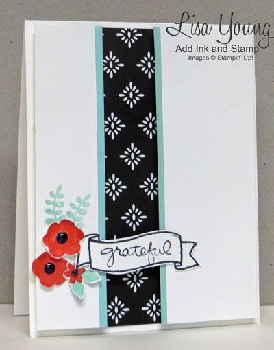 by Lisa: Endless Thanks, Everyday Chic dsp, & more - all from Stampin' Up!: