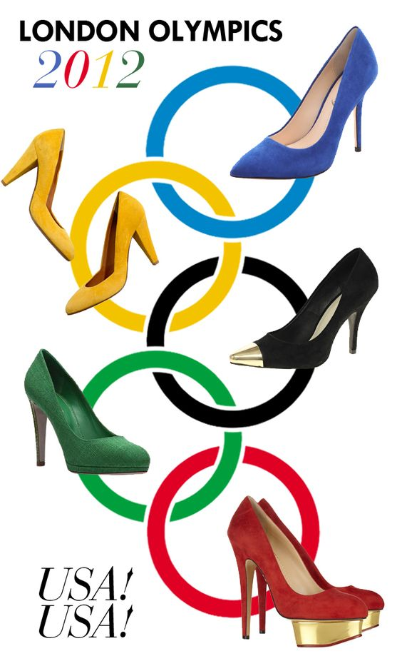 5 Pumps inspired by the Olympic Rings