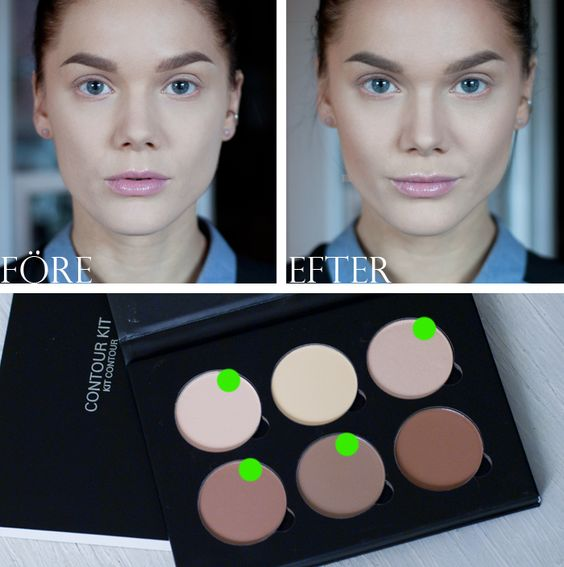 Contouring really makes the difference