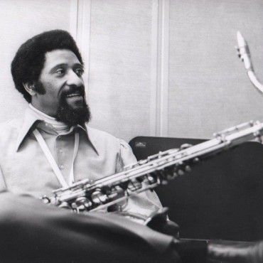 Sonny Rollins 1972 --Chuck Stewart Photography