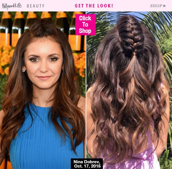Nina Dobrev's Mohawk Braid — How To Get Her Cool Style