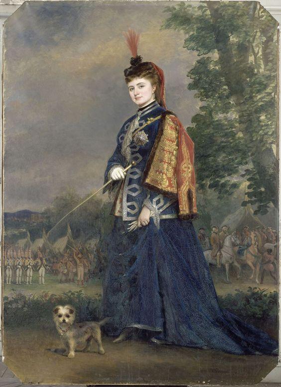 Hortense Schneider (1833-1920) in the Role of the Grand Duchess in 'La Grande-Duchesse de Gérolstein', 1874, by Alexis Joseph Perignon (1806-1882) © RMN / Gérard Blot