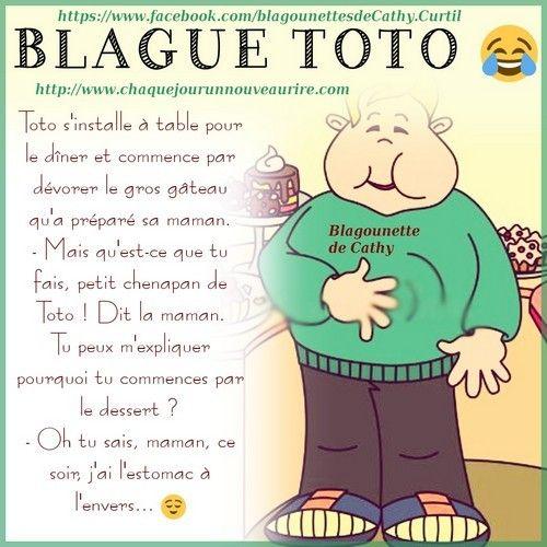 Blague Sur Le Theme Toto Blague Blague Drole Humour Blague