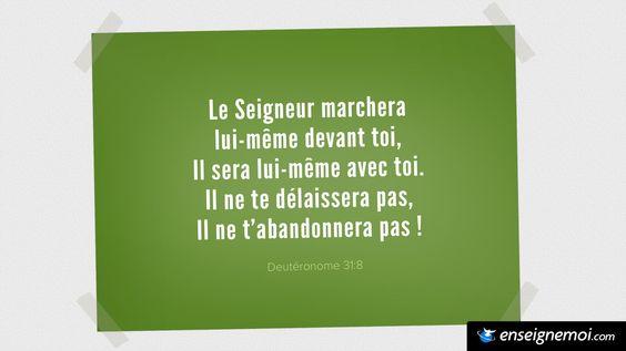 Deutéronome 31:8