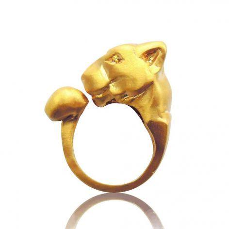 golden cougar ring