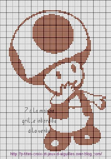 Le blog de 7 la maison point de croix tricot grilles gratuites maman d 39 une petite - Differents points de tricot ...