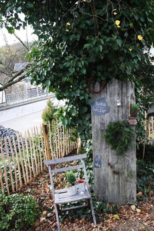 POSSELIESJE: {Gastblogger} Weihnachts-Winter Deko für den Garten