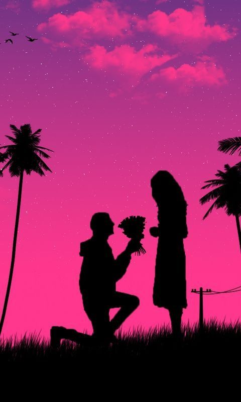 Boy Kneeling Down Giving Flowers To Girl Wallpaper For Iphone And 4k For Laptop Download Now F Girl Iphone Wallpaper Cute Girl Wallpaper Love Background Images Lover boy wallpaper hd download