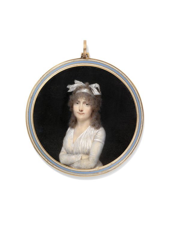 Jean-Baptiste Isabey (French, 1767-1835) Miniature Pendant | Paintings | Christie's