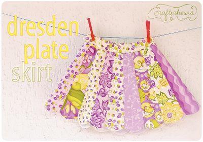 The Dresden Plate Skirt