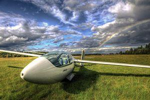12 December 2006 First flight #flighttest of the Jonker JS1 high performance sail plane in South Africa