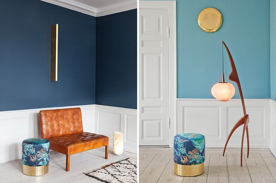 With its mix of mid-century and contemporary pieces, the Apartment, owned by designer Tina Seidenfaden Busck, serves as the ultimate furniture showroom.