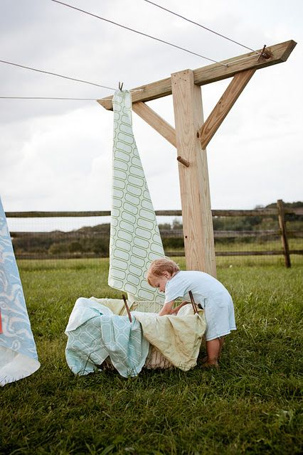 I remember filling many a clothesline and the clothes smelled so fresh. There was nothing like getting into a bed of freshly line dried sheets. Wish it could be like that today.