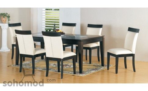 Dining Room Set (495DT Dining Table + 4 480CH Dining Chairs) by American Eagle Furniture