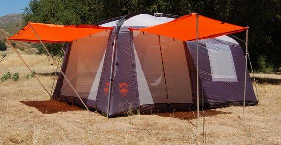 Amazon.com : Paha Que Perry Mesa ScreenRoom/Tent Combo (8 Person) : Family Tents : Sports & Outdoors